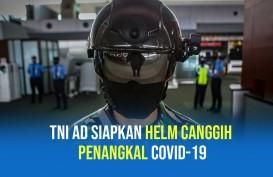 TNI AD Siapkan Helm Canggih Pendeteksi Suhu Tubuh