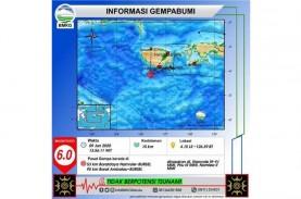 Gempa Maluku: Magnitudo Update 5,8, Tidak Berpotensi…