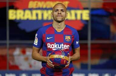 Braithwaite Mengaku Ingin Belajar dari Luis Suarez di Barcelona