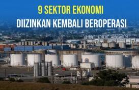 Sembilan Sektor Ekonomi Penting Kembali Dibuka