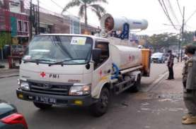8.276 Kasus Corona DKI, 10 Unit Mobil Gunner PMI Semprotkan…