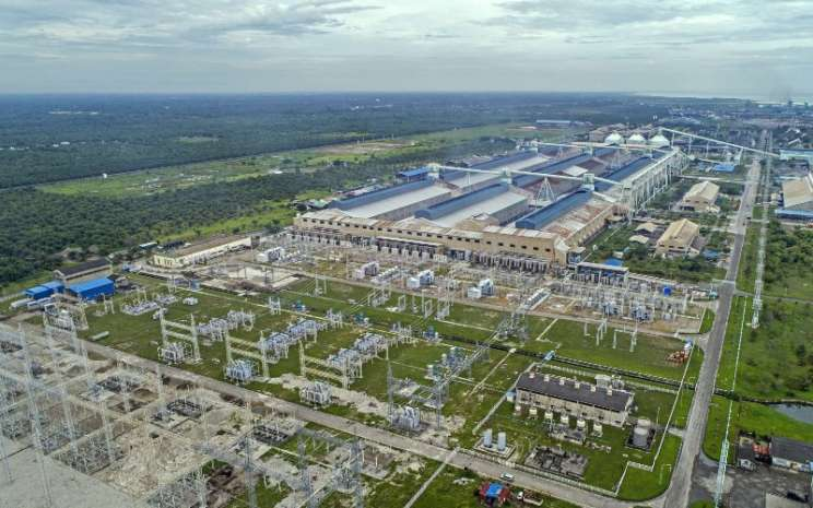Pabrik peleburan PT Inalum (Persero). - inalum.id