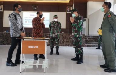 RS Siloam (SILO) dan Gowa Makassar (GMTD) Gelar Rapid Test untuk Personel TNI AU di Makassar