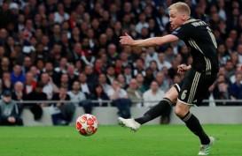 Kepindahan Van de Beek, Ajax Tunggu Tawaran Konkret United