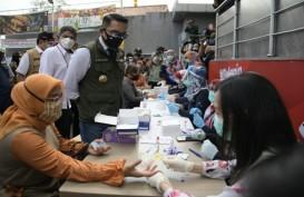 Ridwan Kamil Pantau Langsung Rapid Test di Pusat Perbelanjaan