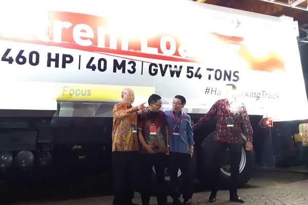 Peluncuran Renault K Range di Jakarta, Selasa (25/6 - 2019). Di Indonesia, Renault Trucks menggedeng PT Indo Traktor Utama, anak perusahaan Indomobil Group. Indomobil Group juga membawahi bisnis truk Volvo di Tanah Air. foto BISNIS.COM