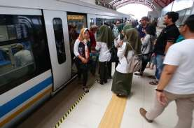 LRT Palembang Jalankan Sistem Kontrol Eropa