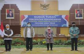 3 Kepala Daerah Surabaya Raya Berkomitmen Tangani Covid-19