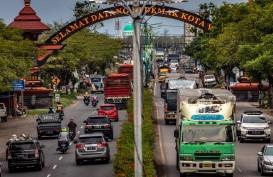 Kota Semarang Perlonggar Pemblokiran Jalan