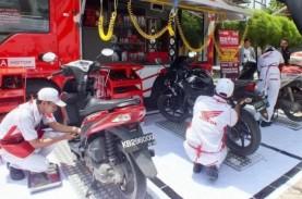 Masa PSBB, Layanan Home Service Motor Honda Melejit…
