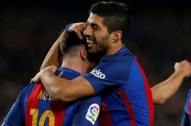 Top Skor La Liga, Kapten Barcelona Lionel Messi Cetak…