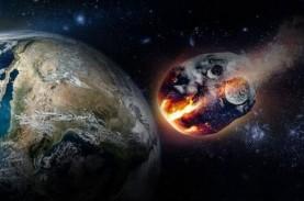 Tak Terdeteksi, Asteroid Telah Melintas Antara Bumi…