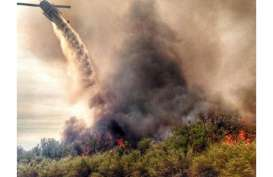 Awasi Titik Rawan Kebakaran Hutan, Kabupaten OKI Manfaatkan Drone