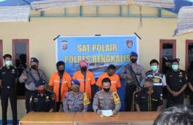 Bea Cukai Bengkalis Bersama Satpolair Tindak Penyelundupan 600 Karung Gula Pasir Asal Malaysia