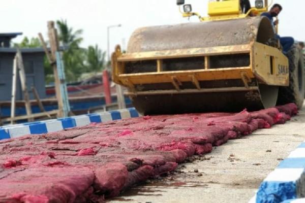 Bea Cukai Kuala Langsa Musnahkan Bawang Merah Ilegal Hasil Operasi Laut Jaring Sriwijaya