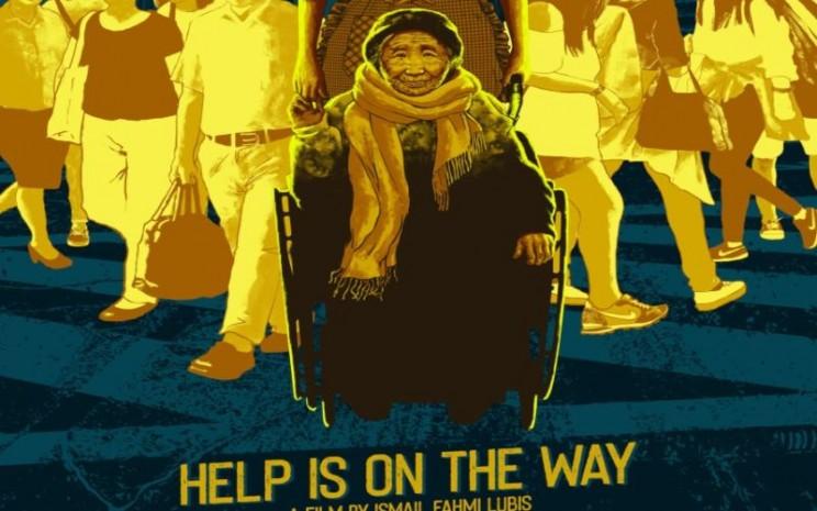 Film Help Is On Way adalah dokumenter tentang pekerja migran Indonesia. - poster