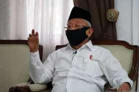 Halal Bihalal MUI, Wapres Ma'ruf: Jaga Umat agar Bebas…