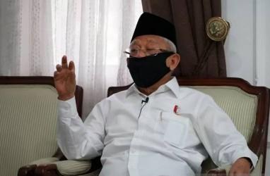 Halal Bihalal MUI, Wapres Ma'ruf: Jaga Umat agar Bebas Covid-19