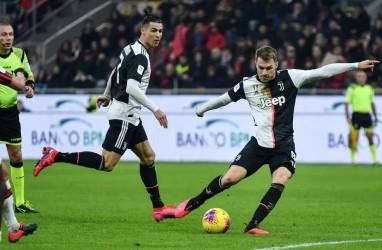 Prediksi Susunan Pemain Juventus vs Milan: Ronaldo-Dybala Main, Ramsey Absen