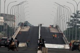 Pembangunan Jalan Layang Purwosari Jalan Terus, Rampung…