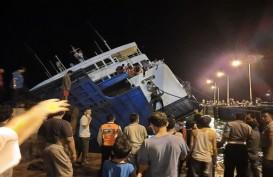 Kapal KMP Dharma Rucitra III Kandas di Dermaga 2 Padangbai, Penumpang Selamat
