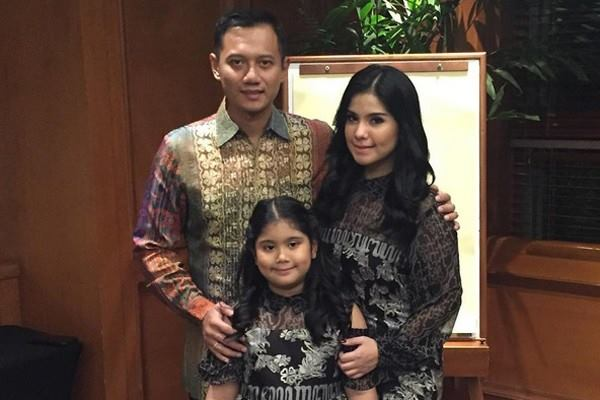 Agus Harimurti Yudhoyono bersama istrinya Annisa Pohan dan putri mereka Almira Tunggadewi Yudhoyono. - Instagram
