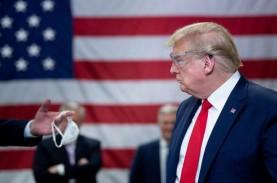 Trump Menyerah, Batalkan Kampanye di Hari Nasional…