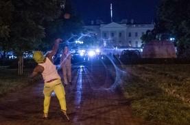 Aksi Protes Kian Marak di AS, Warga Kulit Hitam Ditemukan…