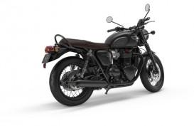 Triumph Hadirkan Bonneville T100 & T120 Edisi Serba Hitam