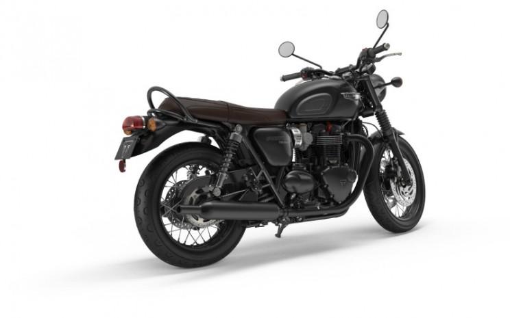 Triumph Bonneville T100 dan T120 Black Edition.  - Foto triumphmotorcycles.co.uk\\n\\n