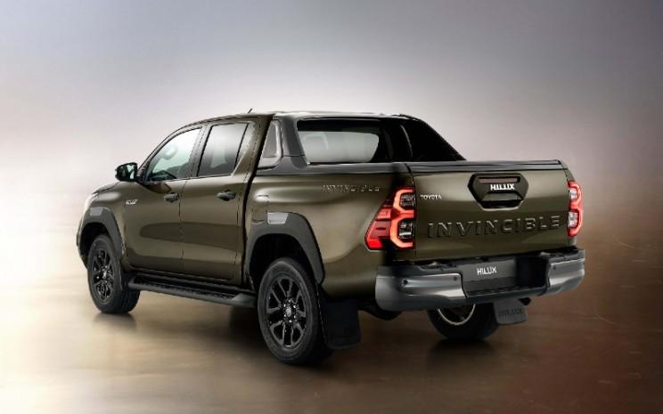 Toyota Hilux terbaru yang sedianya akan dipameran di Geneva International Motor Show (GIMS) 2020. Namun, pameran otomotif yang dijadwalkan pada 5-15 Maret itu batal akibat pandemi Covid-19. - GIMS