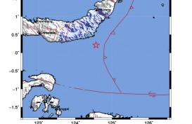 BMKG Catat Gempa Magnitudo 4,5 di Minahasa Hari Ini