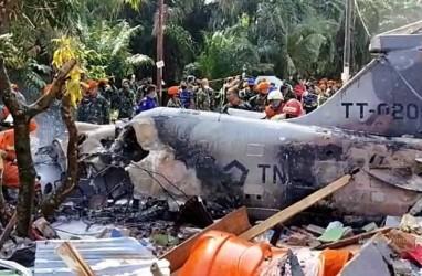 Jet Tempur TNI AU Jatuh, Kursi Pelontar Timpa Rumah Warga