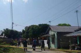 Pesawat Hawk TNI AU Jatuh di Kampar, 3 Rumah Warga…