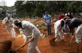Ngeri! Sehari, Kasus Corona Baru Tambah 17.110 Orang di Brasil
