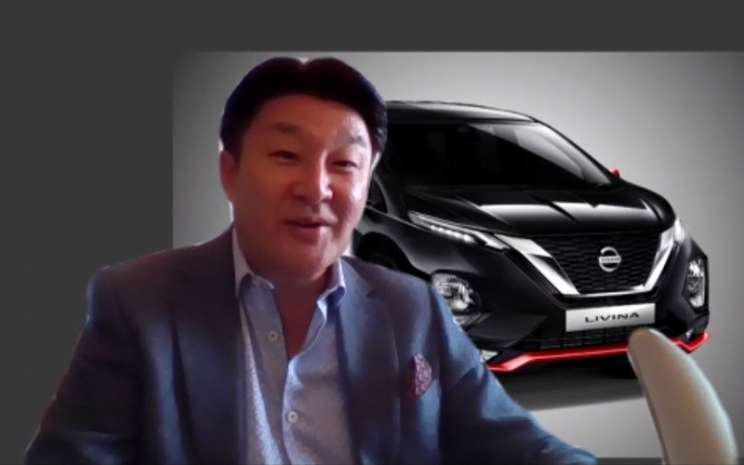 Isao Sekiguchi, Presiden Direktur PT Nissan Motor Indonesia. BISNIS.COM/Dionisio