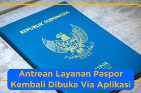 Dirjen Imigrasi Kembali Membuka Layanan Paspor Via…