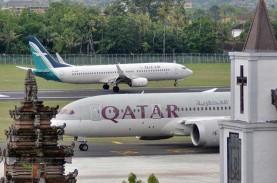Gaji Pilot Qatar Airways Dipangkas 25 Persen