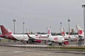 FASE REOPENING EKONOMI : Lalu Lintas Pesawat Mulai…