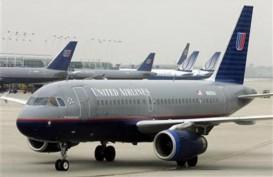 United Airlines Larang Penumpang Terbang Tanpa Masker