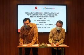 Pertagas Gandeng Krakatau Steel (KRAS) untuk Pengadaan…