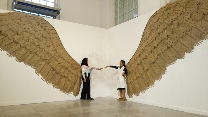 """Pameran tunggal Nus Salomo bertajuk """"Wing Things"""" di Galeri Nasional - Reni Lestari"""
