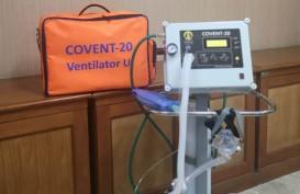 Ventilator UI Lulus Uji Klinis Manusia, Covent-20 Siap Didistribusikan