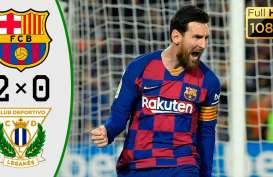 Penalti Messi Bawa Barcelona Gasak Leganes 2-0, Unggul 5 Poin dari Real Madrid