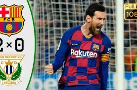 Penalti Messi Bawa Barcelona Gasak Leganes 2-0, Unggul…