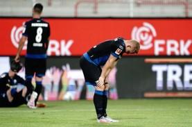 Paderborn Dipastikan Degradasi ke 2.Bundesliga