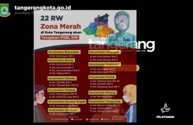 Keluar Masuk 22 RW Zona Merah Kota Tangerang harus Bersurat Pengantar, Ini Daftarnya