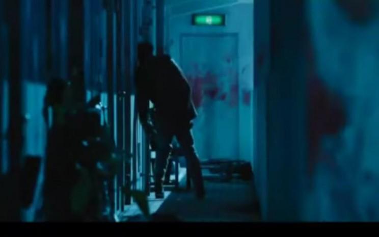 Film zombie dari Korea berjudul Alive. - tangkapan  layar