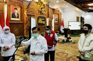 Kasus Corona 8.290, Jusuf Kalla: Tak Tertutup Kemungkinan Jatim Salip DKI Jakarta