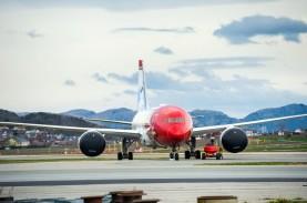 Buka Kembali Rute Penerbangan Eropa, Saham Norwegian…